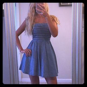 Hollister denim dress